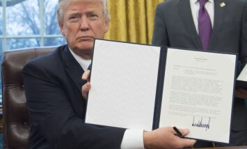 Trampa atteikšanās no TPP – dāvana Ķīnai, vērtē Pabriks
