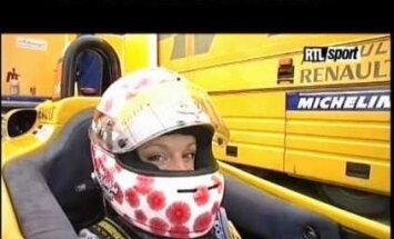 Karlīne Štāla tuvojas sapnim par F1
