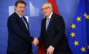 Kučinskis un Junkers vienisprātis – ES fondu apjoms nedrīkst samazināties