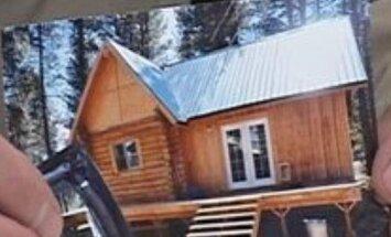 ASV nozagta 356 kvadrātmetru liela dzīvojamā māja