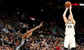 'Spurs' un Bertāns iekļūst NBA izslēgšanas turnīrā