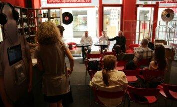 Foto: Sarunu darbnīca Nr. 4. – Hardijs Lediņš un literatūra