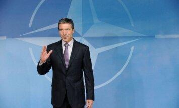 Krievija grauj Ukrainas suverenitāti, paziņo Rasmusens