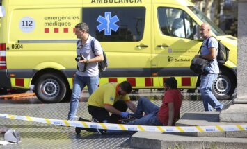 Spānijas teroraktos cietuši vismaz 34 valstu pilsoņi