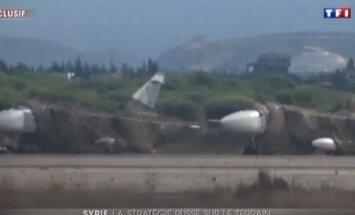 Pirmo reizi nofilmēts Krievijas militārais ekipējums Sīrijā