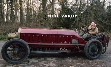 Video: 1905. gada 'Fiat' automobilis ar lidmašīnas dzinēju