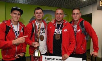 Latvijas 3x3 basketbola izlase sīvā cīņā uzvar Horvātiju un iekļūst Pasaules kausa turnīra ceturtdaļfinālā