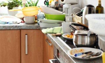Kad ciemiņi jau teju pie durvīm: kā sakopt virtuvi 15 minūtēs