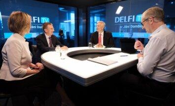 Par ko balsot? 'Delfi TV ar Jāni Domburu' atbild 'Jaunā Vienotība'