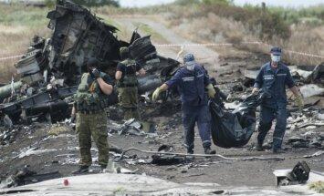 Atrastas jau vairāk nekā 250 aviokatastrofā Ukrainā bojāgājušo mirstīgās atliekas