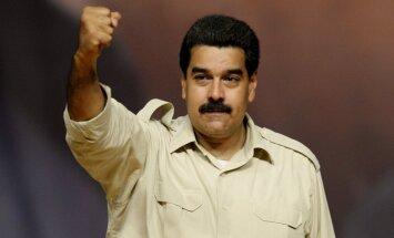 Nikolass Maduro: ASV sākušas naftas karu; vēlas iznīcināt Krieviju un Venecuēlu