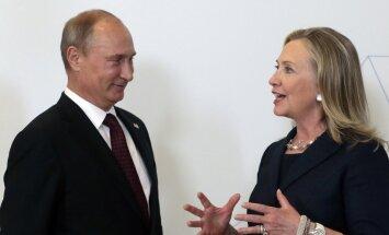 Клинтон предпочтет ужин с Путиным компании с Трампом