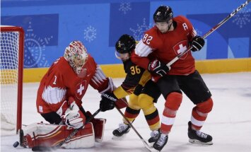 Olimpiskajā hokeja turnīrā noskaidroti visi ceturtdaļfināla dueļi