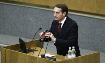 Нарышкин: Россия имеет право на военный ответ в адрес Турции