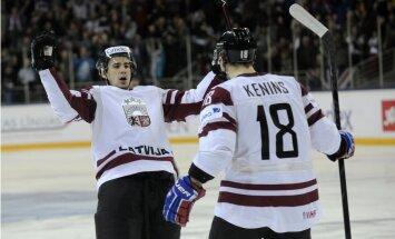 Latvijas hokejisti sper platu soli pretī Soču Olimpiādei