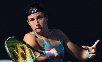 Sevastova lielā karstumā sasniedz Maljorkas WTA turnīra ceturtdaļfinālu