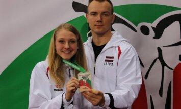 Latvijas karatiste Vīča izcīna bronzas medaļu Eiropas čempionātā junioriem
