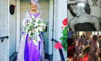 ФОТО: Эта 86-летняя невеста и ее наряд дают сто очков форы всем молодым красавицам