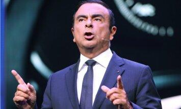 Gosns atstās 'Nissan' vadītāja amatu