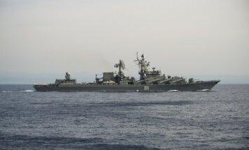 Krievijas armijas lidmašīnas un kuģi Latvijai pietuvojušies 395 reizes