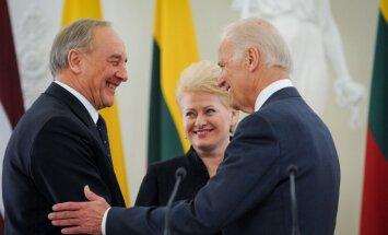 ASV viceprezidents Viļņā mudina Latviju palielināt aizsardzības budžetu; sola aizsargāt Baltiju