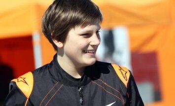 Latviju CIK-FIA Kartinga akadēmijā pārstāvēs Valters Zviedris