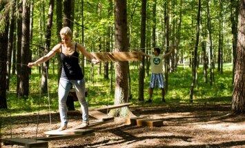 Valmieras Sajūtu parkā sezonu atklās ar vērienīgu pasākumu un jaunām atrakcijām