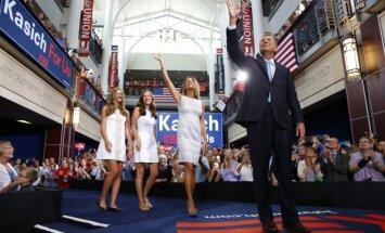 Arī Ohaio gubernators startēs republikāņu priekšvēlēšanās