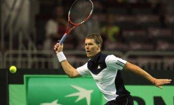 "Латвийский теннисист за неделю выиграл два титула на ""фьючерсах"""