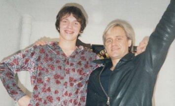 Vēsturiski foto: Latvijas mūzikas industrijas milži pirms 20 gadiem