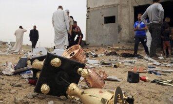 Sprādzienā futbola stadionā Irākā 41 bojāgājušais; vismaz 100 ievainoto