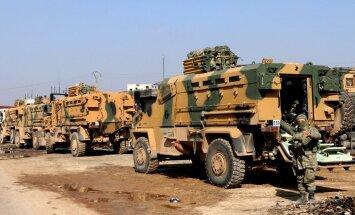 Turcijas agresijas dēļ kurdi piekrituši Sīrijas armijas atgriešanai Afrīnā