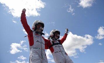 Britu pilots Mīke triumfē WRC Portugāles rallijā