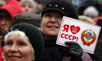 Putina projekta mērķis ir noliegt Padomju Savienības sabrukumu, uzskata lietuviešu politologs