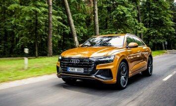 Foto: Latvijā prezentēs 'Audi Q8' apvidnieks