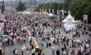 Во время праздника Риги введут ограничения движения; набережную 11 Ноября закроют