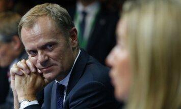 Tusks: ES gatava spert tālākus soļus pret Krieviju, ja Minskas vienošanās tiks pārkāpta