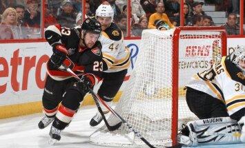 Daugaviņa pārstāvētā 'Senators' piekāpjas Stenlija kausa īpašniekiem 'Bruins'