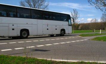 Autobusu vadītāju pikets Bauskā aizritējis bez starpgadījumiem