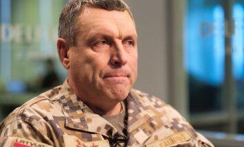 Armijas komandieris uzteic bruņoto spēku, policijas un robežsardzes sadarbību