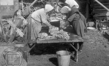 Ko latvietis ēda senāk. Ar cirvi cērtams siers un sviests zelta vērtē jeb Stāsts par pienu
