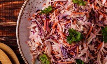 Ideālie kāpostu salāti – viltības, kas jāņem vērā
