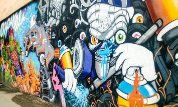 Neparastā Rīga: vārtrūmju un sienu māksla sānieliņās