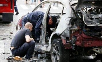 Kijevā automašīnas sprādzienā nogalināts žurnālists Pāvels Šeremets