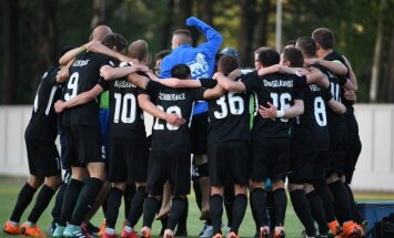 RFS otrajā puslaikā nokārto uzvaru futbola virslīgas spēlē pret Jūrmalas 'Spartaku'