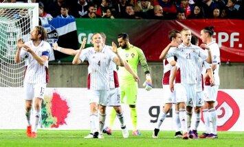 Portugāles futbola izlases vārtsargs Betu: mēs respektējam Latvijas valstsvienību