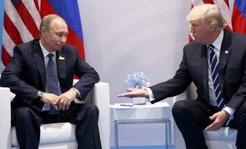"""Пользователи соцсетей сравнили рукопожатие Путина и Трампа со сценой из """"Карточного домика"""""""
