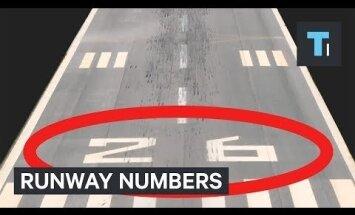 Так вот что на самом деле значат гигантские цифры на взлетно-посадочных полосах аэропортов