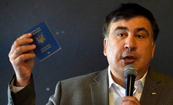 Saakašvili sola svētdien atgriezties Ukrainā