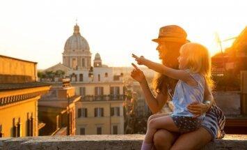 Ceļojums ar bērniem: neatkārtojamā Roma